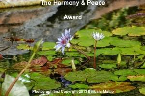 HarmonyPeaceAward